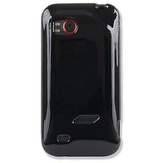 Qmadix FGHTC6425BK Flex Gel HTC Rezound 6425 - Skin - Retail Packaging - Black