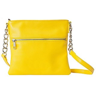 Chic Buds Cross Body Power Portable Charger for Universal/USB Devices - Retail Packaging - Yellow