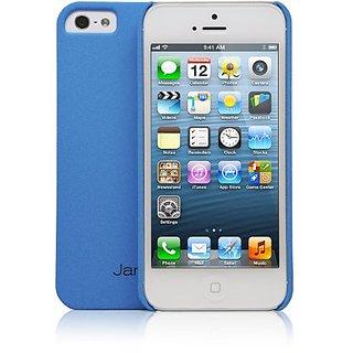Jarv Sandstone Snap-on Case for iPhone 5 - Frustration-Free Packaging - Light Blue