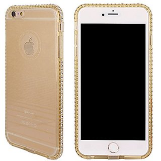 Soft Tpu Case For Iphone 6 Plus/6s Plus, Clear Protective Back cover with Luxury Bling Bumper, 6 Plus/6s Plus- 5.5 inch