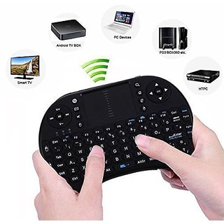 Tayun Mini 2.4G Wireless Keyboard with Multi Touchpad for PC, Pad, Google/ Android TV Box, Xbox360, PS3 etc