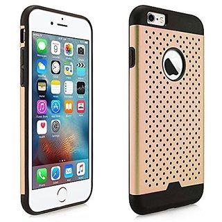 Alienwork Case for iPhone 6 Plus/6s Plus champagne gold Bumper Cover Shock Proof Aluminium gold AP6SP18-03