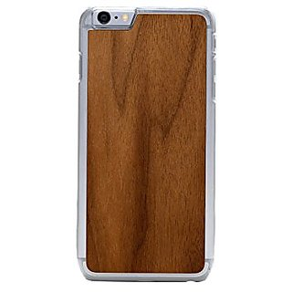 CARVED Walnut iPhone 6/6s Plus Slim Clear