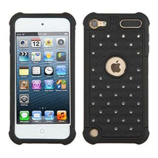 Asmyna Cell Phone Case for Apple Devices- Retail Packaging - Black/Black/Black