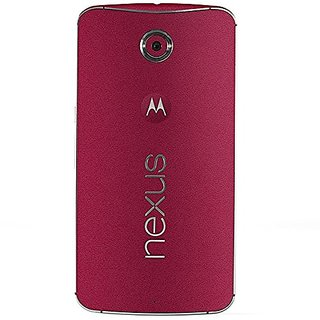 Slickwraps Wrap/ Skins for Google Nexus 6 - Retail Packaging - Red Color Series