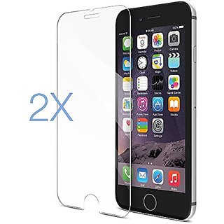 iPhone 6S Plus Screen Protector , 2 pack Smallelectric Apple iPhone 6 Plus (5.5 inch ONLY) HD Clear Ballistic Glass (.3m