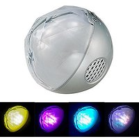 SailsON Electronics LED Color Changing Ball Light Wireless Bluetooth Speaker Music Player With FM Radio TF And Remote Co