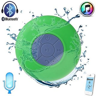 Waterproof Wireless Bluetooth Shower Speaker Handsfree speakerphone - - Compatible with all Bluetooth Devices iPhone 5 S