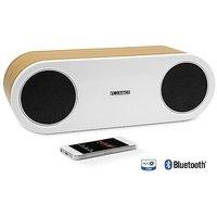 Fluance Fi30 High Performance Wireless Bluetooth Wood Speaker System With AptX Enhanced Audio (Bamboo)