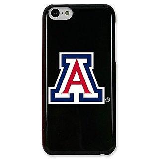 NCAA Arizona Wildcats Case for iPhone 5C, One Size, Black