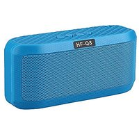 Portable Wireless Selfie Speaker HF-Q8 With 12 Hours Playtime Built-in Microphone Support FM Radio TF Card For Smartphon