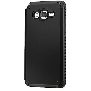 Asmyna Inverse Advanced Armor Case for Samsung G530 (Galaxy Grand Prime) - Retail Packaging - Black
