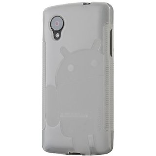 Cruzerlite Androidified A2 Case for LG Nexus 5 - Retail Packaging - Clear