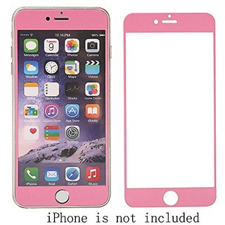 Worlds ONLY Radiation-Reduced iPhone 6/6s Plus (5.5 inch) Tempered Glass Screen Protector-Pink, Reduce 40-50% Radio Freq