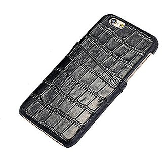 iPhone 6 Plus Case, Levanpro High Quality Cattle Hide Alligator Grain Genuine Leather Case Alligator Grain Cover for App