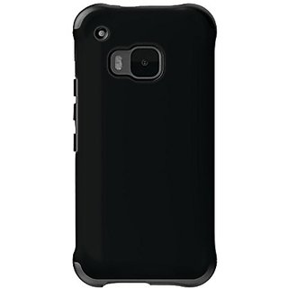 Ballistic Cell Phone Case for HTC One M9 - Retail Packaging - Black