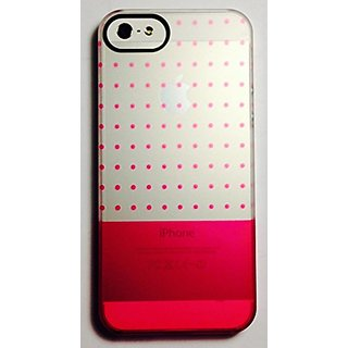 Uncommon LLC Gradient Polka Frosted Deflector Hard Case for iPhone 5/5S - Retail Packaging - Pink