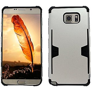 Zizo Case for Samsung Galaxy Note 5 - Retail Packaging - Metallic UV Silver