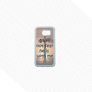 Krezy Case Samsung Galaxy S6 Case, Cute Samsung Galaxy S6 Cover, Bible Words Samsung Galaxy S6 Case, Galaxy S6 Case, Coo