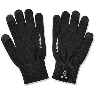 NEW BLUETOOTH GADGET GLOVES ALLOW YOU TO TALK TO THE HAND... LITERALLY! Bluetooth Gloves - Microphone Built Into the Pin