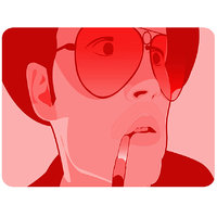 Fear And Loathing Mouse Pad By Shopkeeda