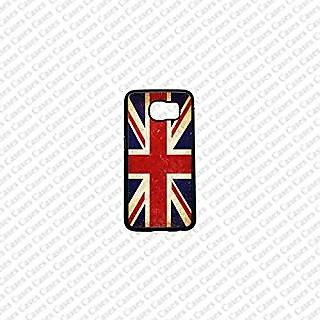 Krezy Case Samsung Galaxy S6 Case, Cute Samsung Galaxy S6 Cover, Vintage UK Flag Samsung Galaxy S6 Case, Galaxy S6 Case,