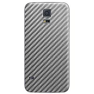 Samsung Galaxy S5 Skins, Cruzerlite Carbon Fiber (Back) Skins Compatible for Samsung Galaxy S5 - Graphite