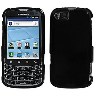 MyBat MYBAT Motorola XT603 Natural Phone Protector Cover - Retail Packaging - Black