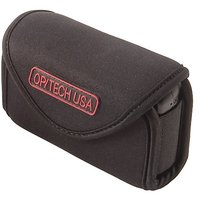 OP/TECH USA 7301254 Snappeez-Medium, Wide Body Horizontal Neoprene Pouch For Camera (3.75 X 2.5 X .75 - 1.25 Inch) (Blac