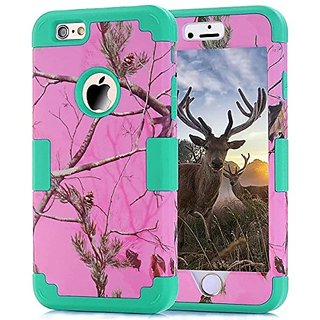 Gotida iPhone 6s/iphone 6 Case Hybrid hard silicone skin cover case for iPhone 6s 4.7 inch