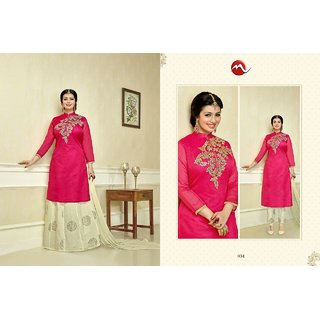 THREAD EMBROIDERY SUIT WITH TOP 2.50M BOTTOM 2.50M DUPATTA NAZMIN