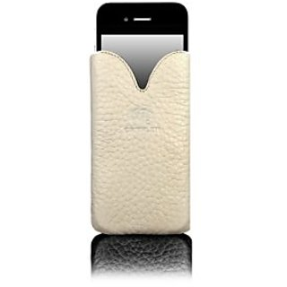 Camalen CTulip-C Camalen Tulip Case for iPhone 4/4S - 1 Pack - Retail Packaging - Cream