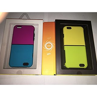 IJOY SPY Interchangeable iPhone 6 , 1 black inner case and 4 half size outer colours