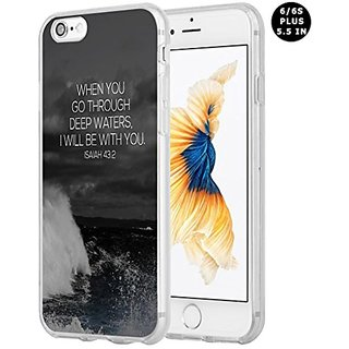 Iphone 6 Plus Case Bible Verses, Apple Iphone 6S Plus Case Christian Quotes Isaiah bible quote christian verses