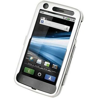 Monaco 26886 Aluminum Case for Motorola Atrix 4G - Non-Retail Packaging - Silver