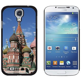 Graphics and More Kremlin St Basils Cathedral Moscow Russia Red Square Pattern Snap-On Hard Protective Case for Samsung