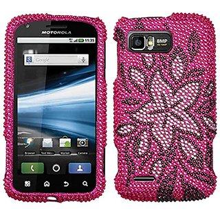 Asmyna MOTMB865HPCDM168NP Luxurious Dazzling Diamante Case for Motorola Atrix 2 M865 - 1 Pack - Retail Packaging - Taste