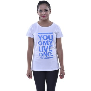Oneliner Women's Cotton T-Shirt (OSWT15-2XL-$P)