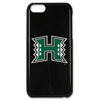 NCAA Hawaii Warriors Case for iPhone 5C, Black, One Size