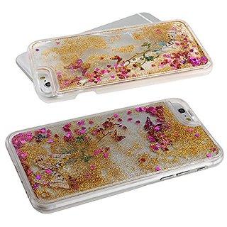 iPhone 6 Case,iPhone 6 Sparkle Case,iPhone 6 Flowing Case,iPhone 6 Liquid Case,IKASEFU Luxury Creative Design Transparen