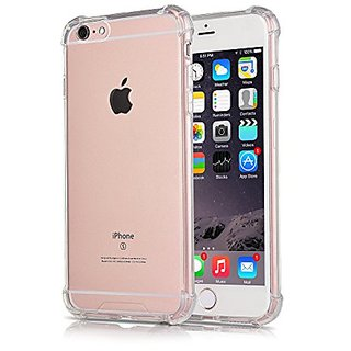 iXCC New Enhanced Crystal Series Apple iPhone 6/6s Plus Protective Cover Case with Transparent Hard Plastic Back Plate a
