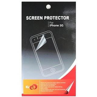 Kroo Screen Protector for iPhone 3G, 3G S (Clear)
