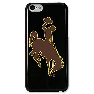 NCAA Wyoming Cowboys Case for iPhone 5C, Black, One Size