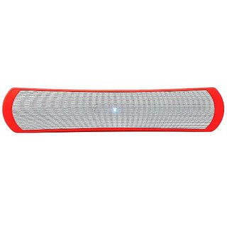 Keeka Ultra-Bass High Performance Bluetooth Music Player and Boombox for Bluetooth Enabled Mobile Devices - Red (SG-BT-1