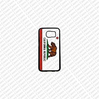 Krezy Case Samsung Galaxy S6 Case, Cute Samsung Galaxy S6 Cover, California FLag Samsung Galaxy S6 Case, Galaxy S6 Case,