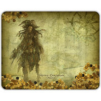 Pirates Of Caribbean Ghost Mouse Pad By Shopkeeda