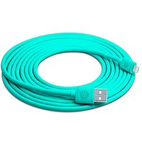 AT&T 10-Feet Lightning Cable For IPhone/iPad/iPod- Retail Packaging - Blue