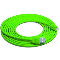 AT&T 10-Feet Lightning Cable For IPhone/iPad/iPod- Retail Packaging - Green