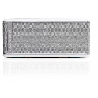 Riva TurboX High Performance Premium Mobile Bluetooth Speaker (White)