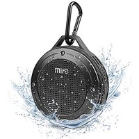 MIFA F10 IP56 Outdoor Bluetooth 4.0 Speaker Gray Color,Built-in Mic,Rechargeable Battery,5Hours Playtime,3W,DSP Chipset,